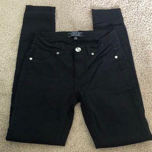 Black spandex pants